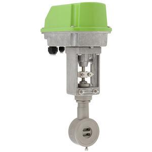válvula de cuchilla / con mando eléctrico / de cierre / de regulación