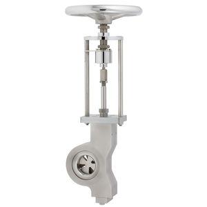 válvula de disco / manual / para gas / resistente