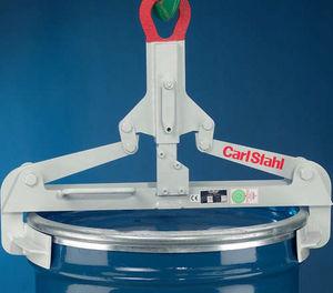 pinza de elevación de barriles / vertical / manual
