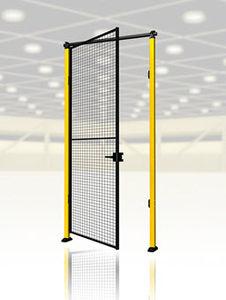 puertas abatibles / de metal / industriales / para interior