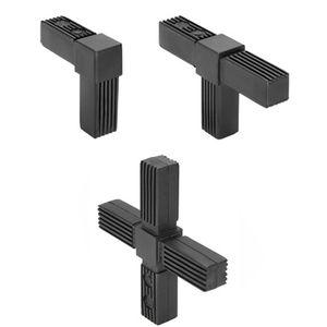 conexión de tubo cuadrado