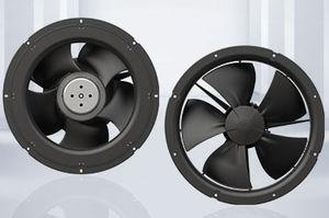 ventilador axial / compacto / de ahorro energético / con motor EC