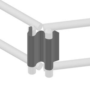 accesorio de montaje para canaletas de cables