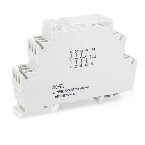 módulo de relé de conmutación / para montaje sobre riel DIN / compacta
