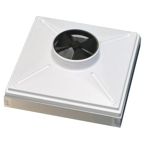 caja de filtro plisada / HEPA / para aire / de aluminio