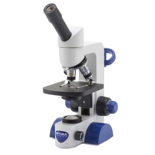 microscopio educativo / óptico / recto / monocular