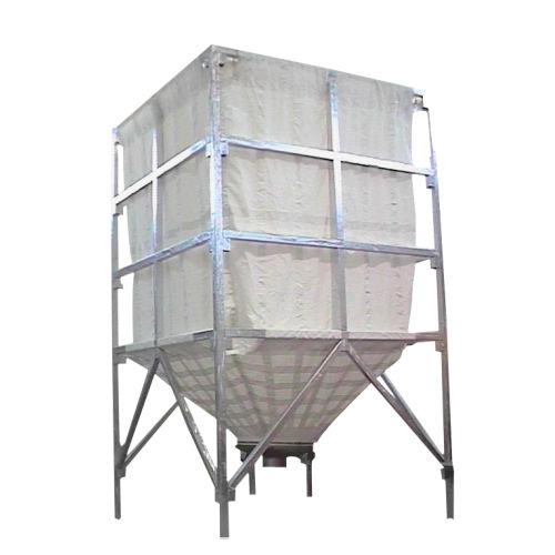 silo flexible / para polvo / para granulados / de tejido