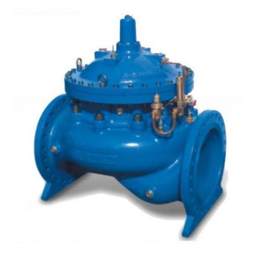 válvula de globo / con control hidráulico / de control / para agua
