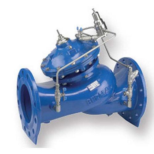 válvula de membrana / con control hidráulico / de control / de reducción de presión