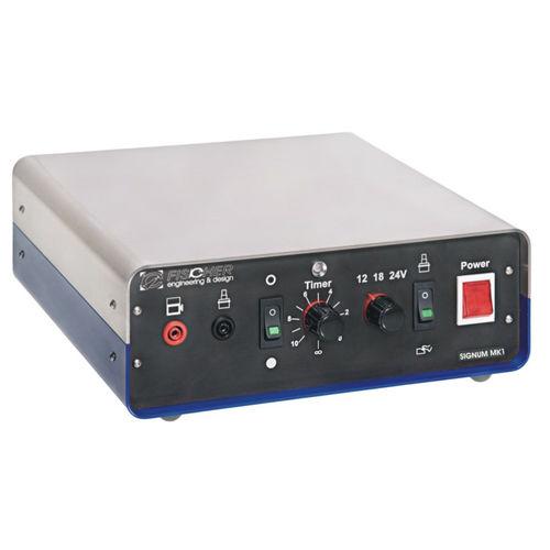 sistema de marcado electroquímico