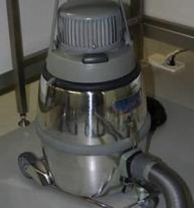 aspirador de polvo / monofásico / para sala blanca / móvil