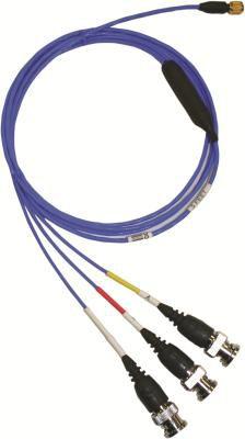cable eléctrico de alimentación / Socket / BNC / triaxial