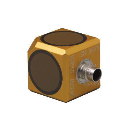 acelerómetro triaxial / piezoeléctrico / de alta sensibilidad