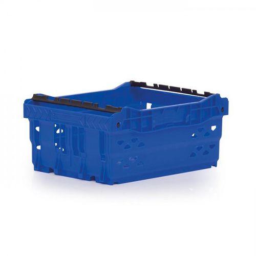 cajón de polipropileno / para almacenamiento / apilable / encajable