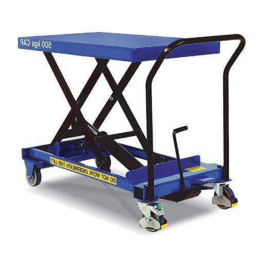 mesa elevadora de tijera / hidráulica / móvil