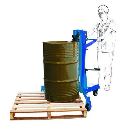 elevador para barriles manual / hidráulico / para barriles