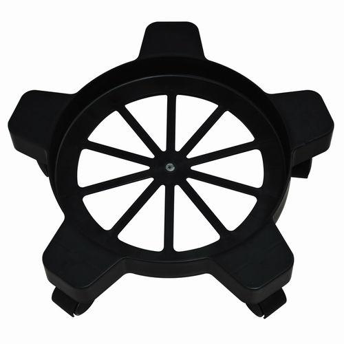 carretilla circular / de plástico