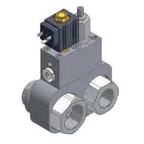válvula con control hidráulico / de derivación