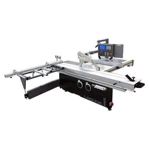 sierra escuadradora / de paneles / para paneles / horizontal