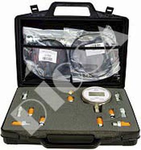 maletín de transporte / de plástico / para manómetro / para manómetro
