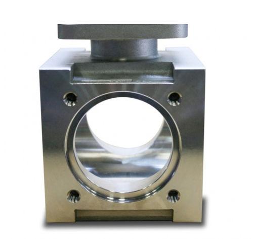 válvula de brida / de acero inoxidable / de hierro fundido / de acero al carbono
