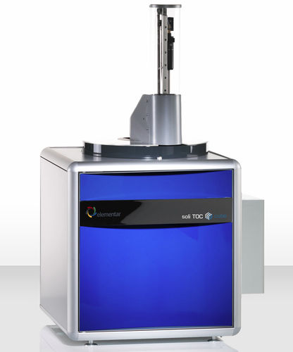 analizador de carbono