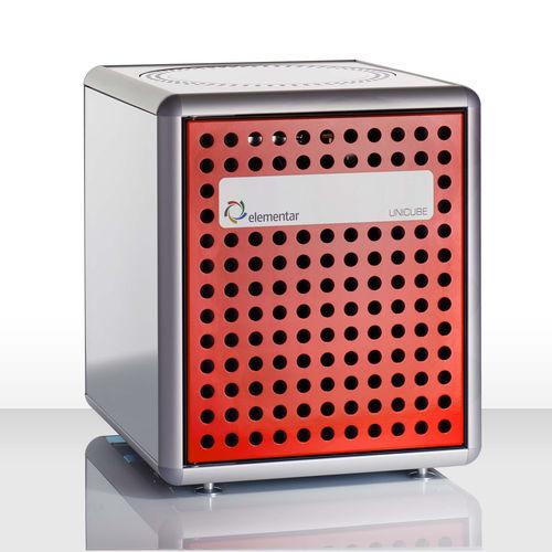 analizador de nitrógeno