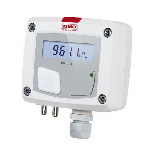 sensor de presión atmosférica / de membrana / analógico / montaje en pared