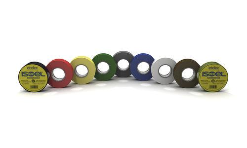cinta adhesiva de PVC / para cables / para marcado / aislante