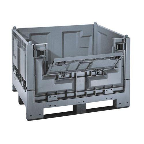 caja-palé de PEAD / de transporte / para almacenamiento / plegable