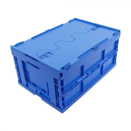 cajón de PP / para almacenamiento / plegable / con tapa