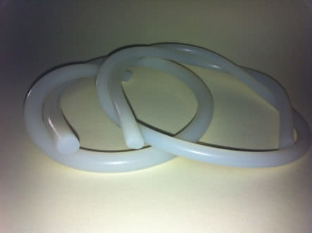 tubo flexible de silicona / termoconductor