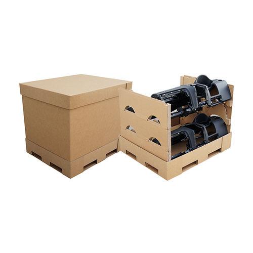 caja-palé de cartón