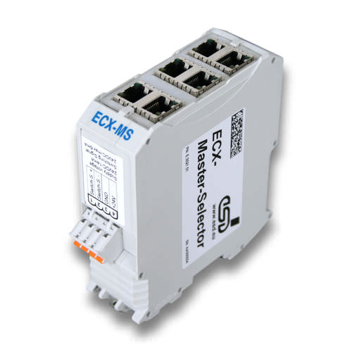 conmutador Ethernet administrable / 10/100BaseT(X) / para montaje sobre riel DIN / redundante