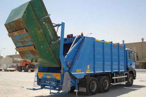 compactador de basura móvil