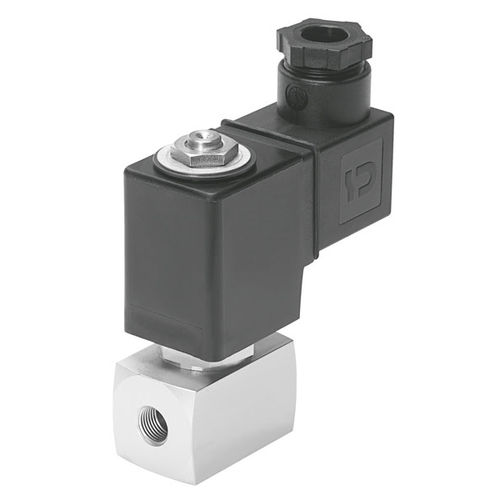 electroválvula de control directo / de 2/2 vías / normalmente cerrada / agua