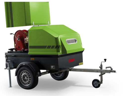 limpiador de agua caliente / móvil / de alta presión