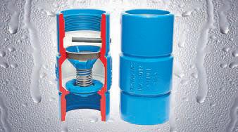 Valvula de retencion de agua para bomba