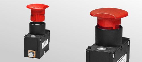 botón pulsador de muelle