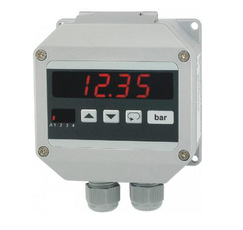 visualizador LED / de 7 segmentos / de 4 dígitos / programable