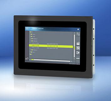 terminal de operador con pantalla táctil