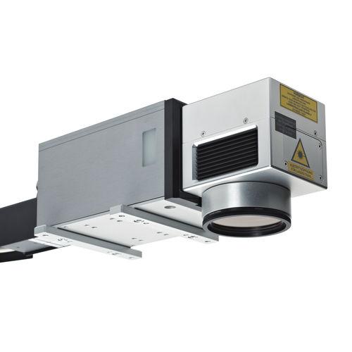 máquina de marcado láser de fibra / integrable / de alta velocidad / refrigerada por aire