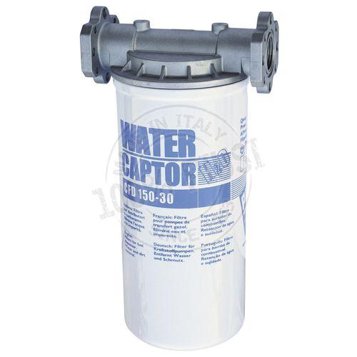 filtro de agua / de cartucho / transparente / de aspiración