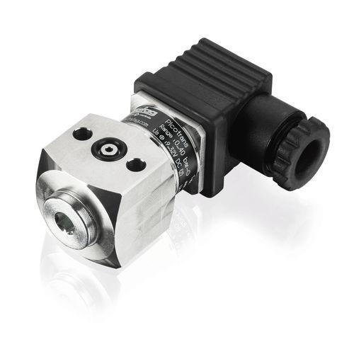 sensor de presión relativa / de capa fina / de brida / de acero inoxidable