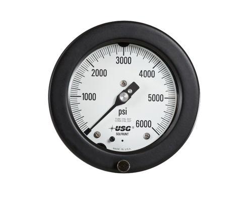 manómetro de esfera / de tubo Bourdon / de proceso / para vacío