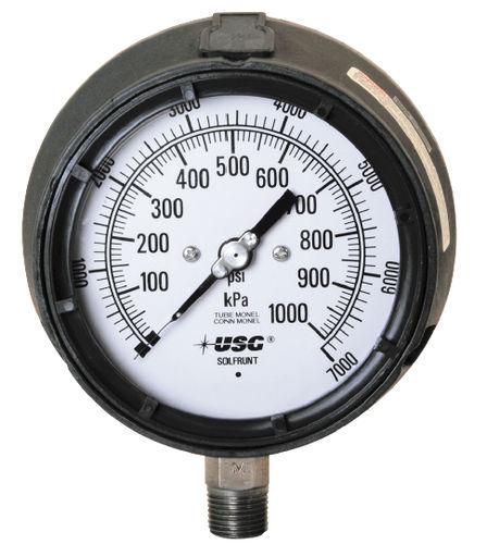 manómetro analógico
