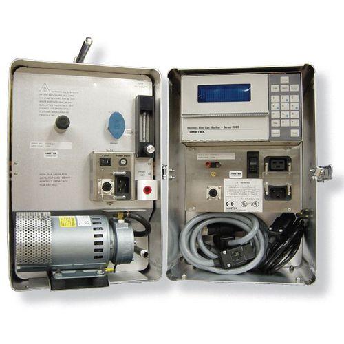 analizador de gas de combustión / de óxidos de nitrógeno / de combustión / portátil