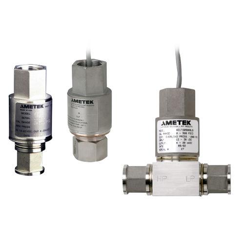 transmisor de presión diferencial / analógico / de acero inoxidable / de rango fijo