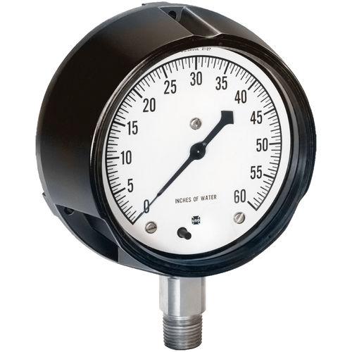 manómetro analógico / de membrana / de proceso / para vacío