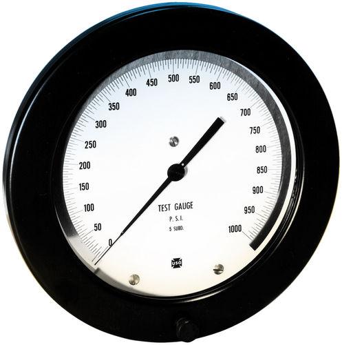 manómetro de esfera / de tubo Bourdon / para vacío / de prueba